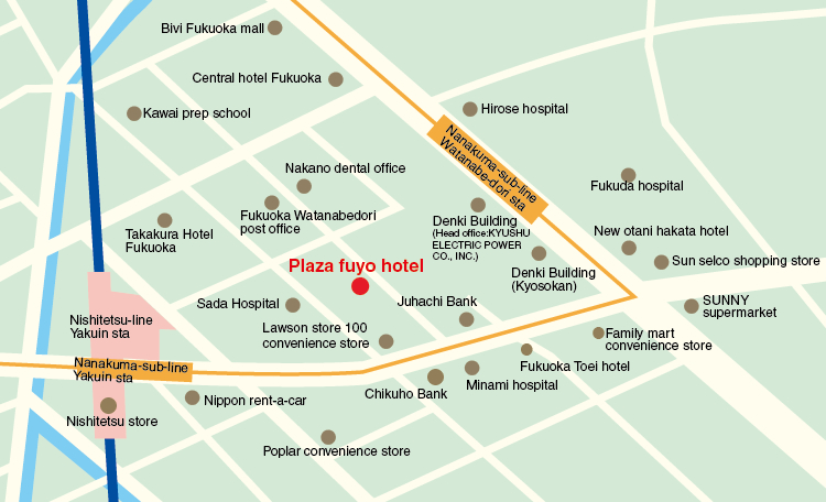 Weekly monthly mansion Plaza Fuyo Hotel
